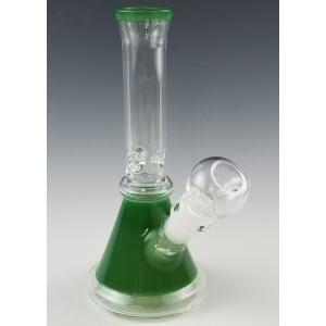 Beaker Base Color Glass Ice Catcher Bong